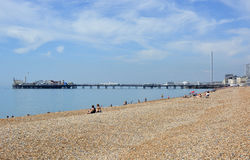Brighton Seafront, East Sussex, England Royalty Free Stock Photo