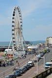 Brighton Seafront england Arkivfoton