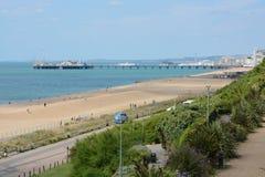 Brighton Seafront england Arkivfoto