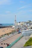 Brighton Seafront england Stockbild