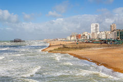 Brighton seafront. England Royalty Free Stock Image