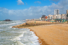 Brighton seafront. England Royalty Free Stock Photography