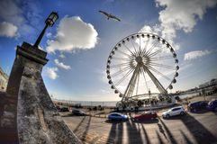 Brighton Seafront Royalty Free Stock Photos