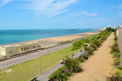 Brighton Seafront inglaterra Imagen de archivo libre de regalías