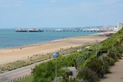 Brighton Seafront l'angleterre Photo stock