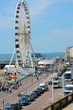 Brighton Seafront l'inghilterra Fotografia Stock