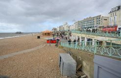 Brighton seafront. Sussex. England Stock Photos