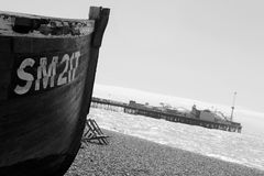 Brighton Seaside Stock Image