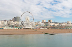 Brighton seen from the pier Royalty Free Stock Image