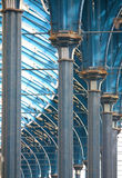 Brighton Station - Ceiling Structure Stock Images