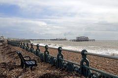 Brighton Storm Damage images libres de droits
