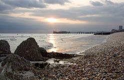 Brighton-Strand Stockfoto