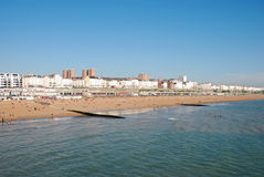 Brighton-Strand Lizenzfreies Stockfoto