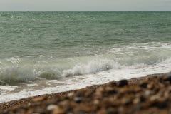 Brighton strand, Brighton, UK, Storbritannien royaltyfria bilder