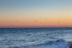 Brighton Sunset images stock