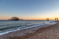 Brighton Sunset photo stock