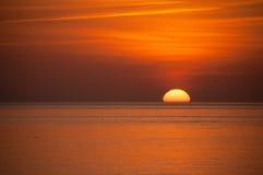 Brighton Sunset Stock Photo