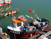 BRIGHTON, SUSSEX/UK - 24 DE MAYO: Opinión Brighton Marina en brillante Imagenes de archivo