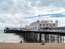BRIGHTON, SUSSEX/UK DEL ESTE - 24 DE MAYO: Opinión Brighton Pier en Bri Fotografía de archivo