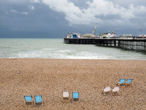BRIGHTON, SUSSEX/UK DEL ESTE - 24 DE MAYO: Opinión Brighton Pier en Bri Imagenes de archivo