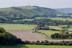 BRIGHTON, SUSSEX/UK DEL ESTE - 25 DE SEPTIEMBRE: El cou rodante de Sussex Imágenes de archivo libres de regalías