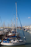 BRIGHTON, SUSSEX/UK - JANUARY 27 : View of Brighton Marina in Br Royalty Free Stock Photography