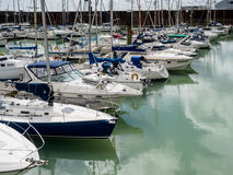 BRIGHTON, SUSSEX/UK - MAY 24 : View of Brighton Marina in Bright Stock Images