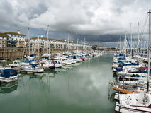 BRIGHTON, SUSSEX/UK - MAY 24 : View of Brighton Marina in Bright Stock Photography