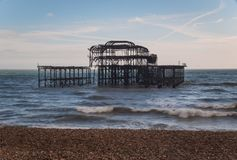 West Pier Stock Photo