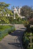 1762 Brighton urodzonej George iii iv starych pawilonów nocy pałacu księcia królewskiego syna sfotografował Wales zdjęcie royalty free