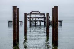 Brighton West Pier photo libre de droits