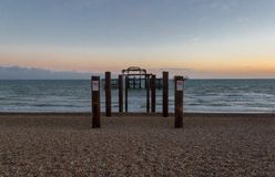 Brighton West Pier image libre de droits