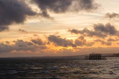 Brighton West Pier photo stock