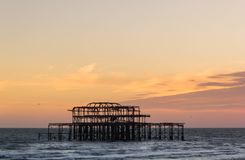 Brighton West Pier images stock