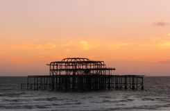 Brighton West Pier photos libres de droits
