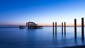 Brighton West Pier image stock