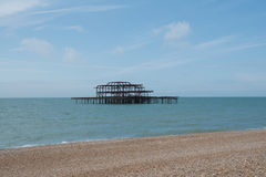 Brighton West Pier Stockfoto