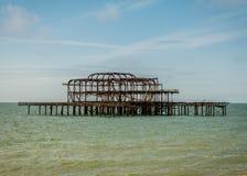 Brighton West Pier Stock Photo
