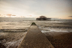 Brighton West Pier, UK Royalty Free Stock Photo