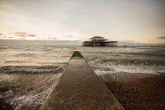 Brighton West Pier, UK Royalty Free Stock Photo