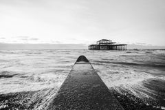 Brighton West Pier, UK Royalty Free Stock Images