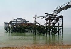 Brighton-Westpier Lizenzfreie Stockfotografie