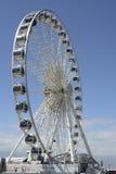 Brighton Wheel et bord de mer l'angleterre photographie stock