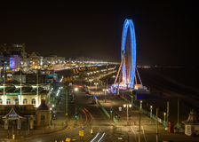 The Brighton Wheel at night Royalty Free Stock Images