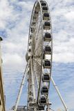 Brighton Wheel on Seafront. England Stock Photos