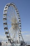 Brighton Wheel and seafront. England Stock Photography