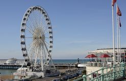 Brighton Wheel. Sussex. England Royalty Free Stock Image