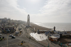 The Brighton Wheel. BRIGHTON, UK - CIRCA APRIL, 2013: The Brighton Wheel was erected in October 2011 and should remain in place until 2016 Stock Photo