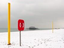 Brighton in winter Stock Photo
