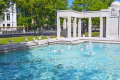 Brighton Wojenny pomnik w Brighton w Wschodnim Sussex Anglia Obrazy Royalty Free